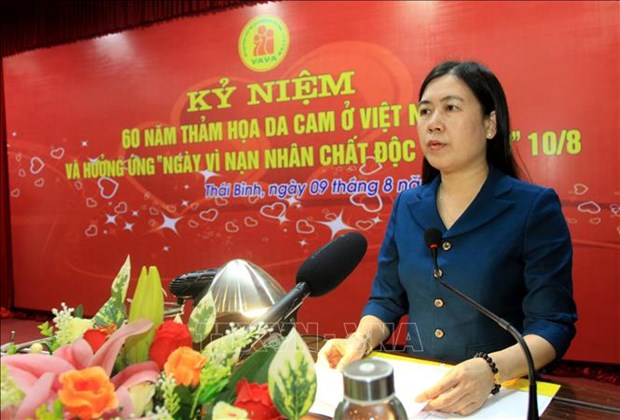 Thai Binh takes care of Agent Orange/dioxin victims hinh anh 1