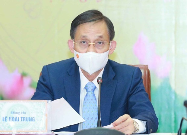 Vietnamese, Lao ministries, commissions forge cooperation hinh anh 2