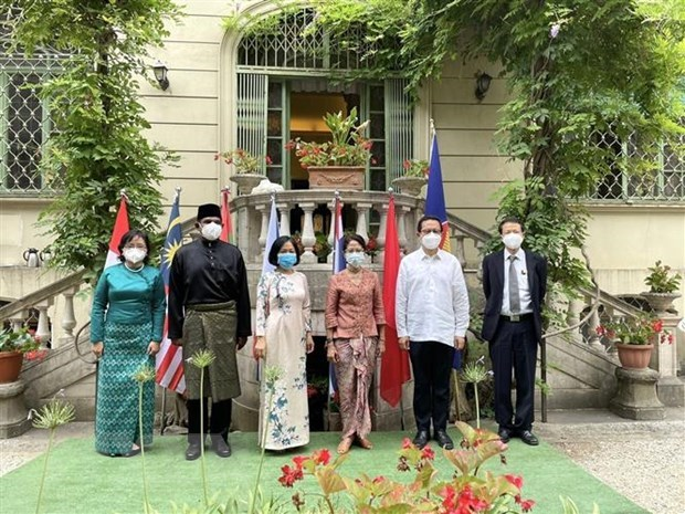 ASEAN's 54th founding anniversary marked in Italy hinh anh 1