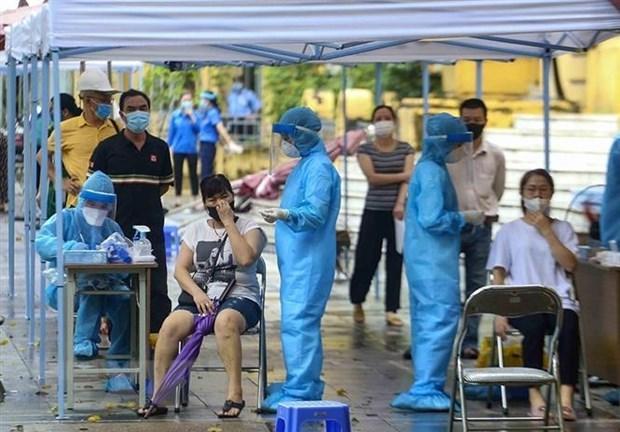 Vietnam's COVID-19 daily tally reaches 8,766 hinh anh 1