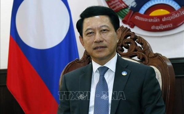 Vietnamese President's visit reflects Laos-Vietnam unique ties: Lao FM hinh anh 2