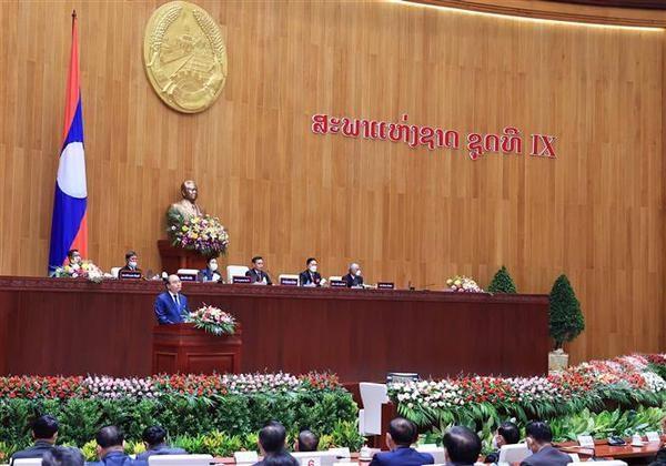 Vietnamese President's visit reflects Laos-Vietnam unique ties: Lao FM hinh anh 1
