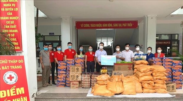 Red Cross launches campaign to support COVID-19-hit residents hinh anh 1