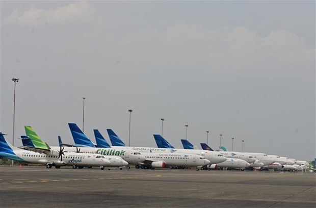 Indonesia's aviation industry struggles as the pandemic continues hinh anh 1