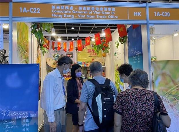 Vietnam introduces products at Hong Kong Food Expo 2021 hinh anh 1