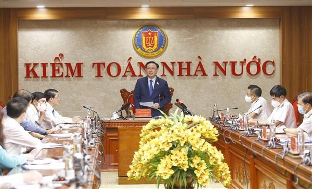 Top legislator urges State audit office to raise operational efficiency hinh anh 1