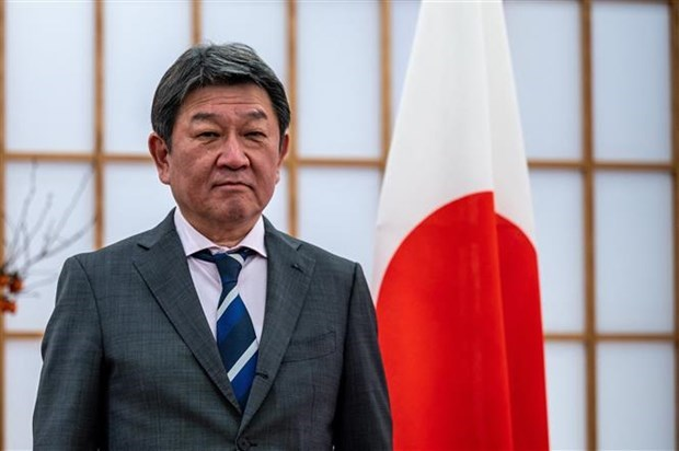Japan promises to support ASEAN Envoy to Myanmar hinh anh 1