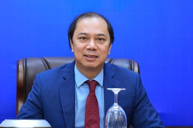 Vietnam-India cooperation effective at international forums: official hinh anh 1