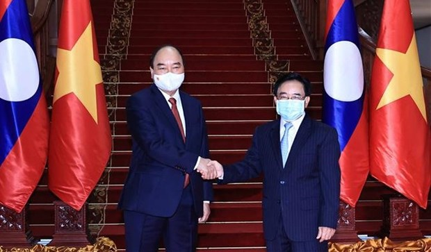 Lao official commends new mindset in bilateral cooperation proposed by Vietnamese President hinh anh 1