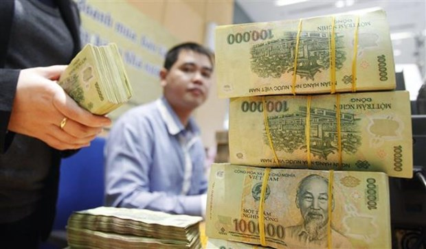 Reference exchange rate down 26 VND on August 12 hinh anh 1