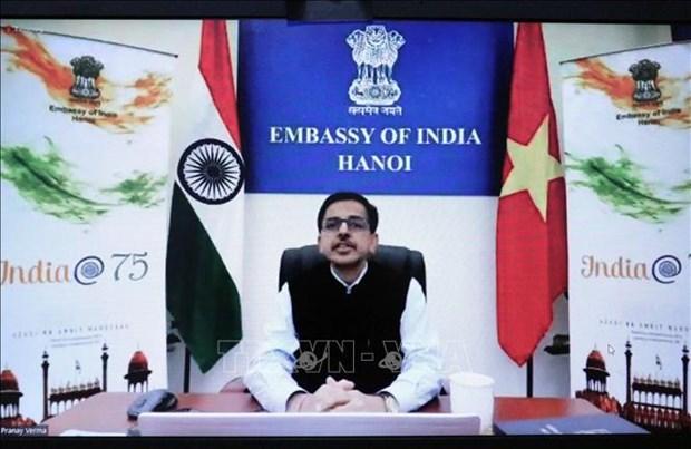 Conference highlights Vietnam – India comprehensive strategic partnership hinh anh 1