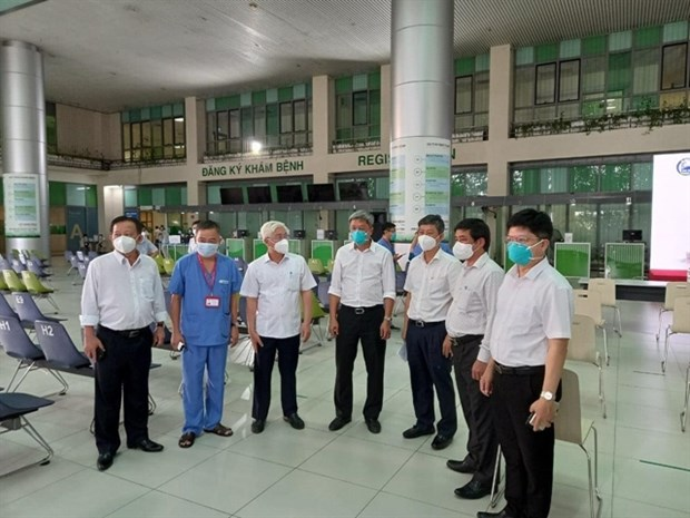 Emergency resuscitation temporary hospital put into operation in Binh Duong hinh anh 1