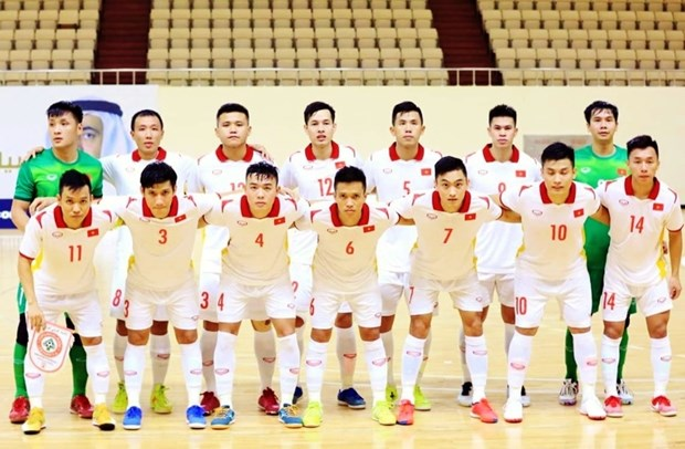 Vietnam targets 1/8 round in FIFA Futsal World Cup 2021 hinh anh 1