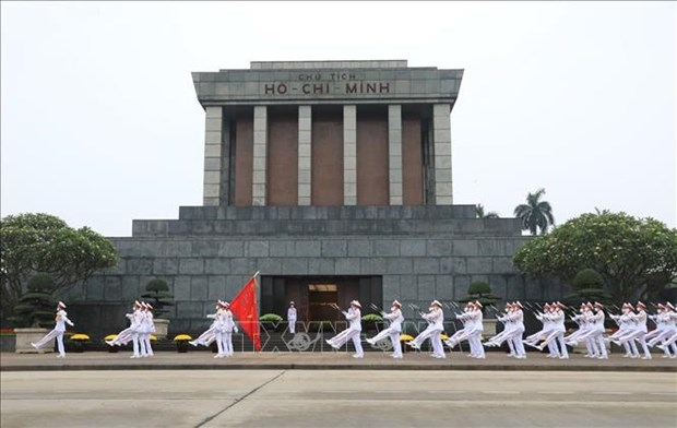 President Ho Chi Minh Mausoleum: sacred space of Vietnamese nation hinh anh 1