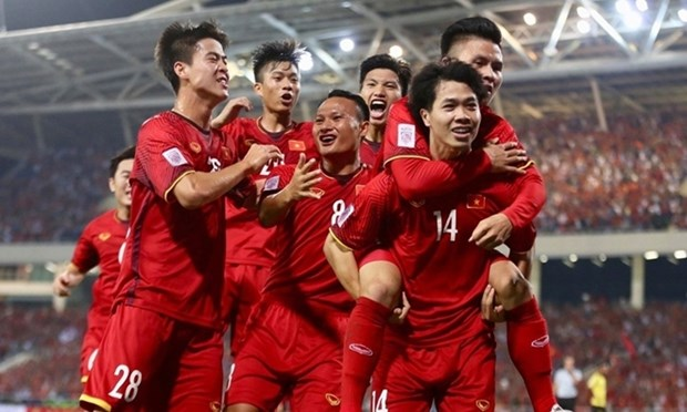 Vietnam retain 92nd spot in latest FIFA rankings hinh anh 1