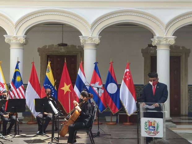 ASEAN's 54th founding anniversary marked in Venezuela hinh anh 1