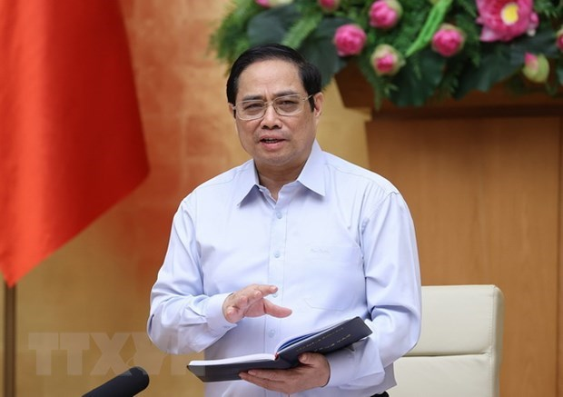 PM launches emulation movement for concerted efforts in COVID-19 combat hinh anh 1