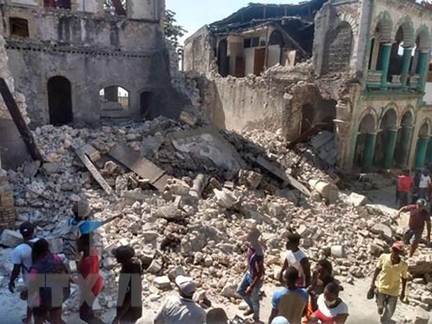 Sympathies to Haiti over earthquake hinh anh 1