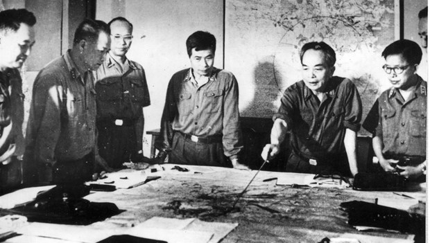 Virtual exhibition on late General Vo Nguyen Giap to open this weekend hinh anh 1