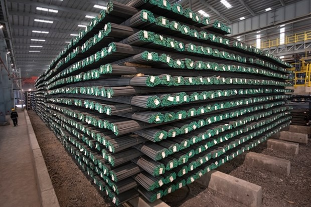 Steel prices hit new high after a series of rapid increases hinh anh 1