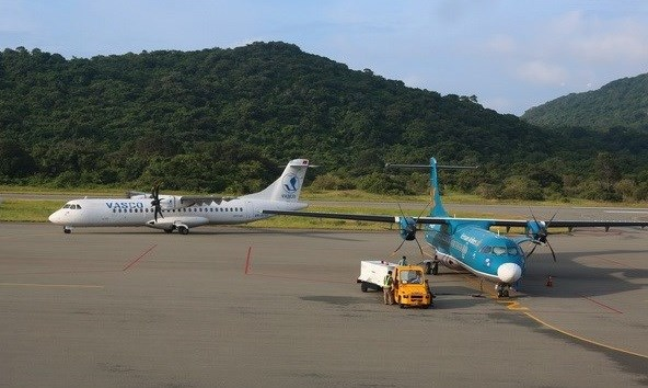 Con Dao Airport to be expanded to serve 2 mln passengers per year hinh anh 1