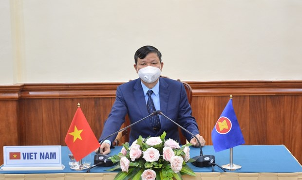ASEAN steps up defence ties in health security hinh anh 1