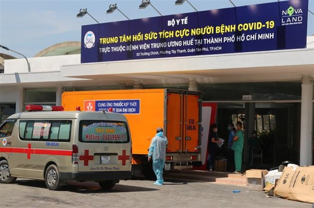 New medical establishments for COVID-19 treatment open in HCM City hinh anh 1