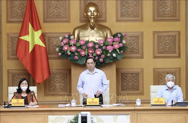 PM asks for people's further engagement in COVID-19 fight hinh anh 1