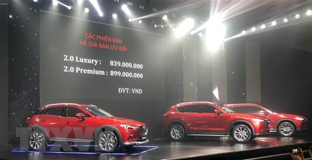 Vietnam's CBU car imports in seven months surge despite COVID-19 hinh anh 1