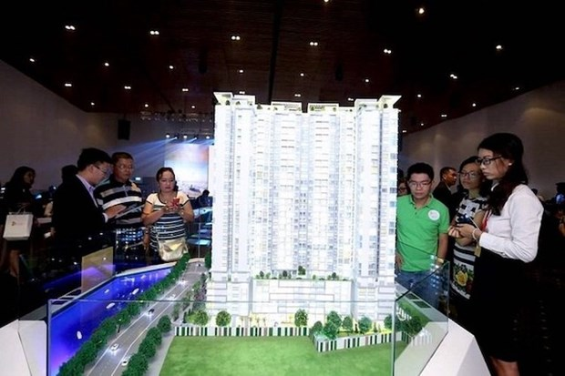 Realty stocks attract foreign investment funds hinh anh 1