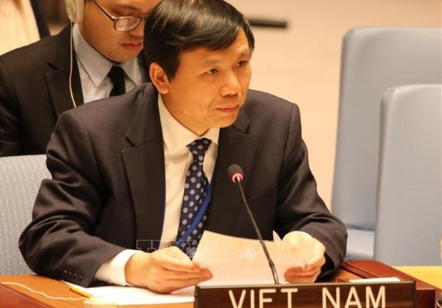 Vietnamese Ambassador to UN affirms importance of technology in peacekeeping hinh anh 1