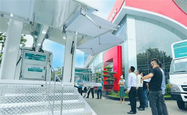 Mobile medical stations to be set up in HCM City, COVID-19 hotspots hinh anh 1