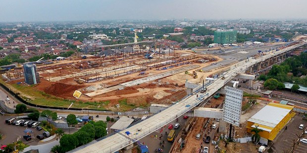 Indonesia to earmark 26.7 billion USD from state budget for infrastructure development hinh anh 1