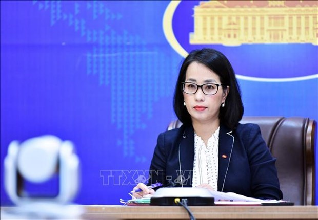 Deputy spokeswoman clarifies issues of public interest hinh anh 2