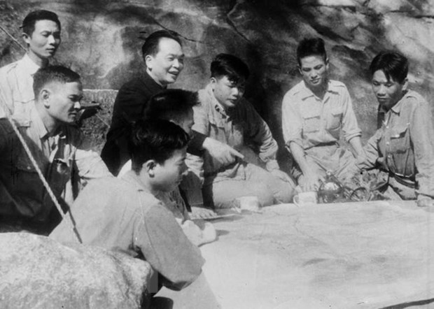 Thai Nguyen holds online exhibition on General Vo Nguyen Giap hinh anh 1