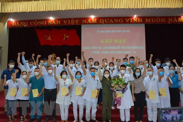 More medical workers sent to help with pandemic control in southern localities hinh anh 1