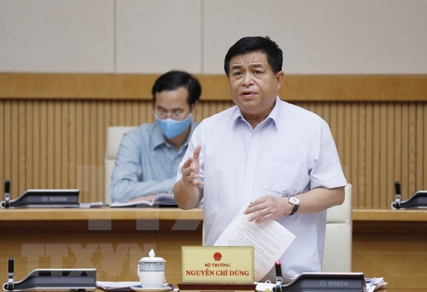 Minister: slow public capital disbursement could cause loss of economic opportunities hinh anh 1