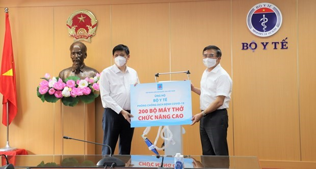 PetroVietnam donates 200 ventilators to support southern localities hinh anh 1
