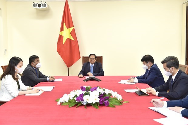 Pfizer to speed up COVID-19 vaccine delivery to Vietnam hinh anh 1