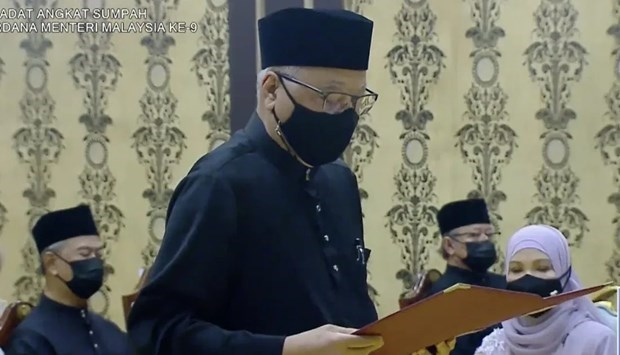 Ismail Sabri Yaakob sworn in as Malaysia's new prime minister hinh anh 1