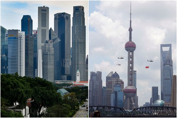 Singapore, China enhance cooperation in digital trade, green economy hinh anh 1