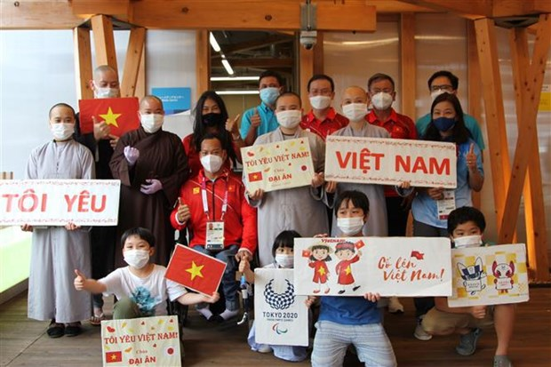 Expatriates in Japan support Vietnamese Paralympic athletes hinh anh 1