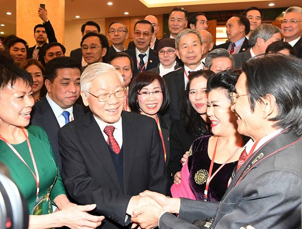 Politburo issues Conclusion on overseas Vietnamese affairs hinh anh 1