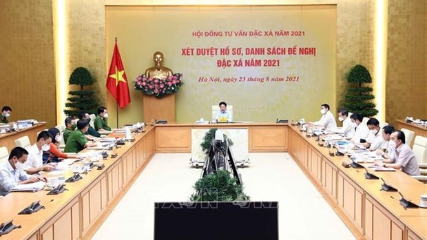 Council reviews list of nominations for amnesty in 2021 hinh anh 1