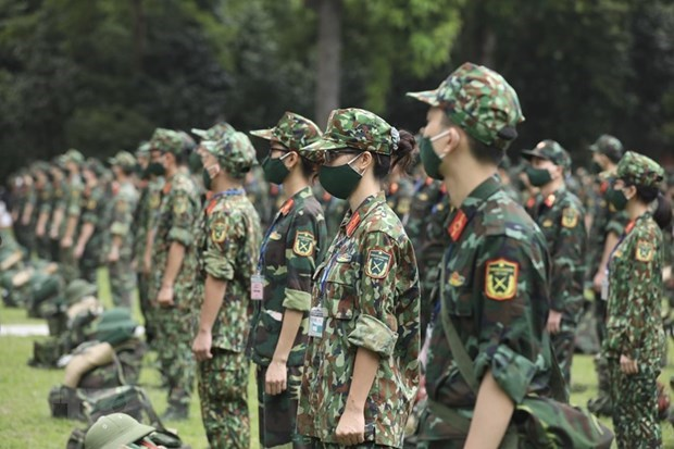 Army to use all forces to help southern localities wipe out COVID-19: Minister hinh anh 1