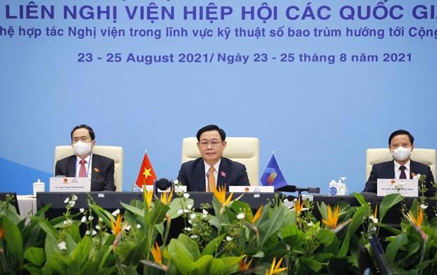Remarks by NA Chairman Vuong Dinh Hue at 42nd AIPA General Assembly hinh anh 1