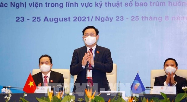 Top legislator calls for AIPA's cooperation in COVID-19 response hinh anh 1