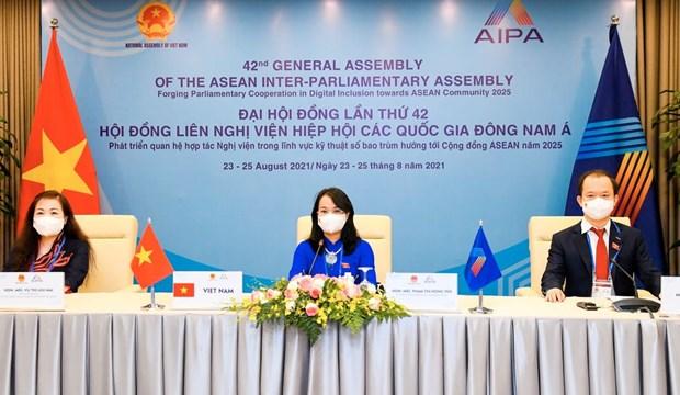 AIPA committee talks enhancement of enterprises' capacity, economic integration hinh anh 1