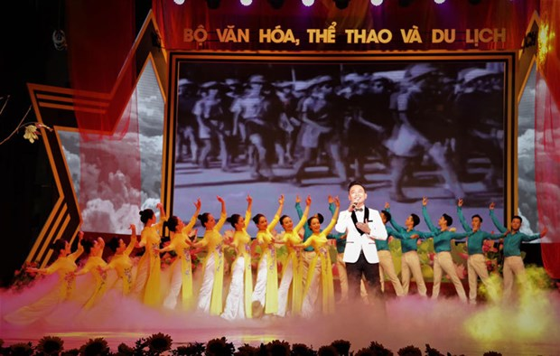 Art programme to mark August Revolution, National Day hinh anh 1