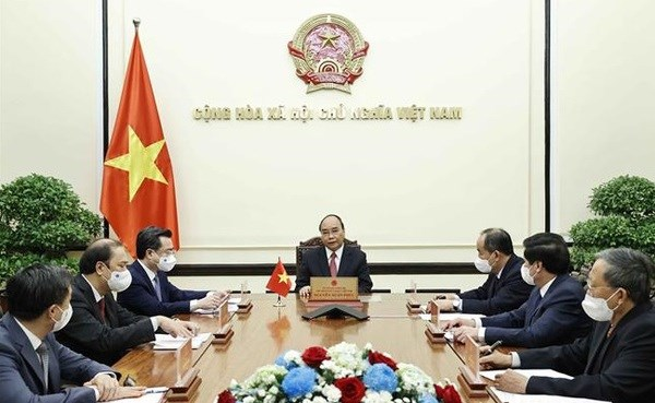 Vietnamese, Cuban Presidents discuss measures to further promote bilateral ties hinh anh 1